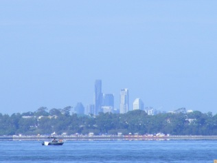 Brisbane City from Woody Point