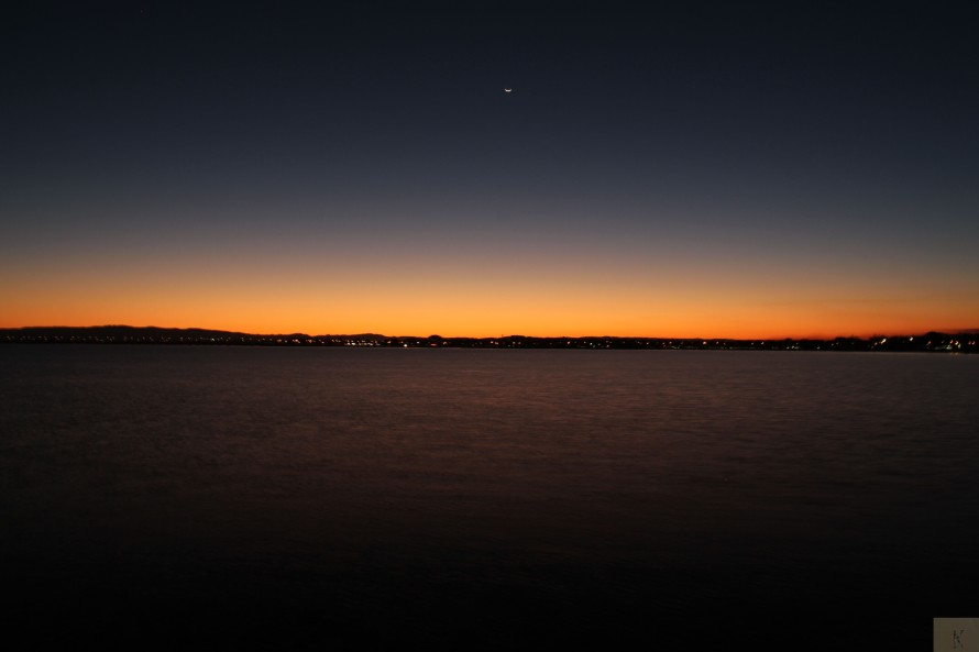 Sunset Over Bramble Bay
