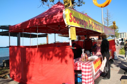 Redcliffe Markets Sausage Sizzle