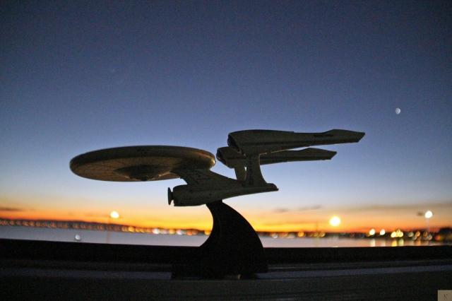 The USS Enterprise