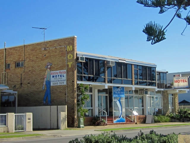 Margate Beach old motel