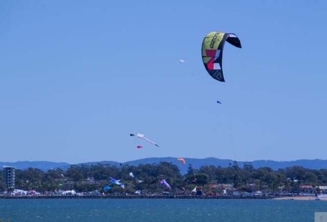 Kites behind Kite